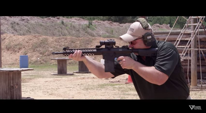 Wilson Combat 308 Carbine vs Laptop