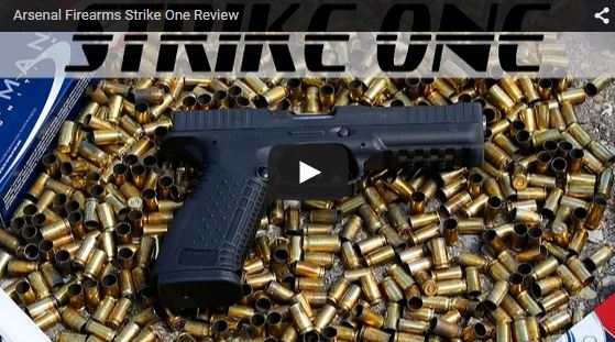 Arsenal Strike One 9mm Pistol Review