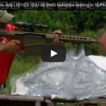 Barrett M107A1 50 Cal vs Ballistics Gel