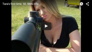 Tara and the Armalite AR-50