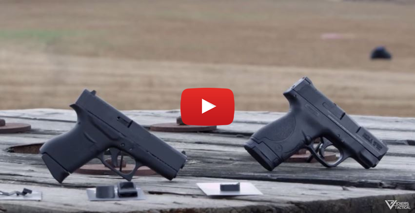 Glock 43 vs Smith Wesson MP Shield