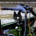 M2 50 Caliber Machine Gun vs M134D Minigun