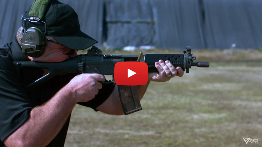 SIG SG 552 Commando Full-Auto Range Demo