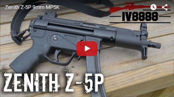 Zenith Z-5P Pistol Range Review