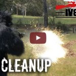 Benelli M3 and Dragon's Breath Lawn Maintenance