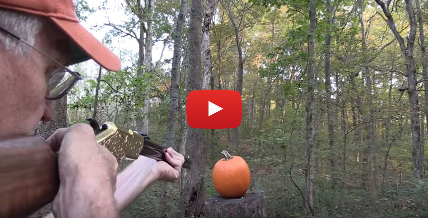 Henry Rifle Pumpkin Carving
