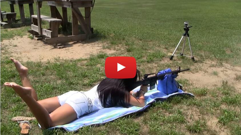 AR-15 Rifle Showdown - Cailie vs Krysta
