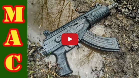 IWI Galil ACE Pistol Torture Test