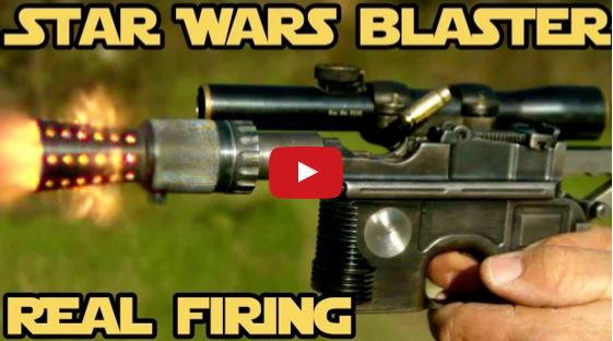 Star Wars Blaster Speed Shooting