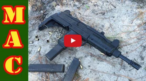 UZI Submachine Gun Torture Test