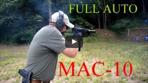 Suppressed MAC-10 Submachine Gun