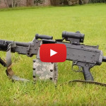 Belt-Fed M240L Machine Gun Pig Hunt