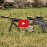 FN M240L Belt-Fed Machine Gun