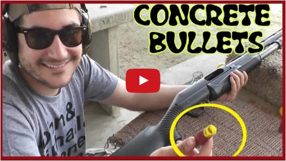 Concrete Shotgun Slugs
