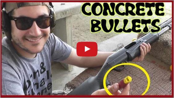 Concrete Shotgun Slugs