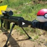 Barrett M82A1 50 BMG vs Pokemon
