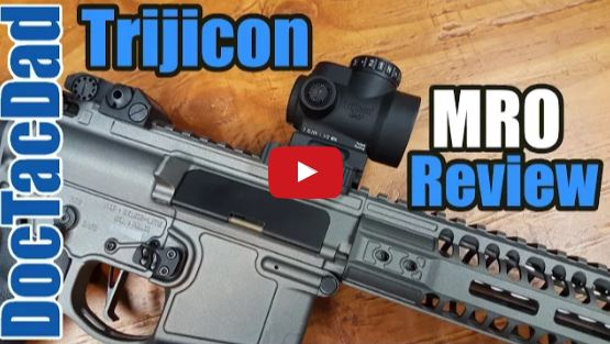 Trijicon MRO Red Dot Review
