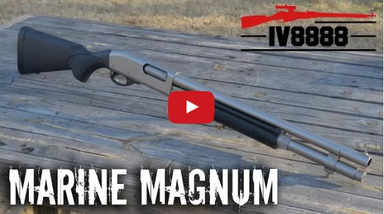 Remington 870 Marine Magnum 12 Gauge Shotgun