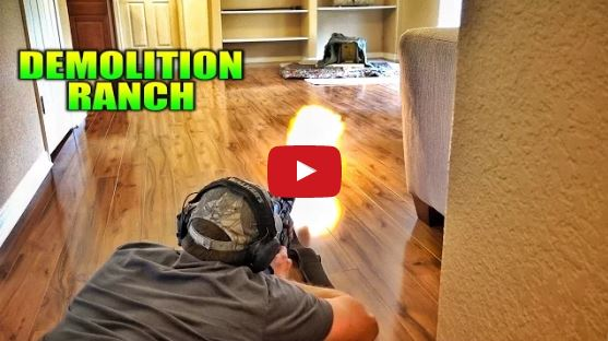 Living Room Shooting Range