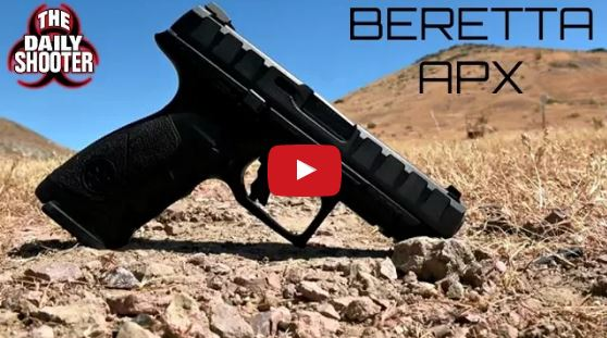 Beretta APX Striker-Fired Semi-automatic Pistol Review