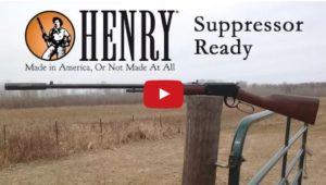 Henry Frontier Lever-Action Rifle with Threaded Barrel