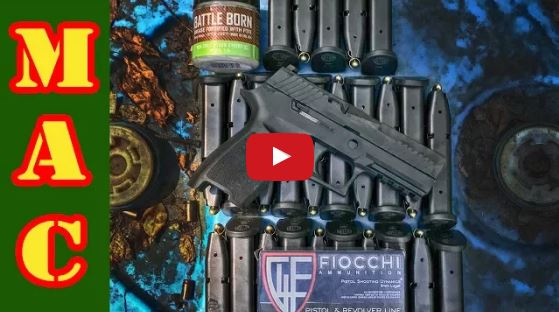 Sig Sauer P320 Compact Torture Test