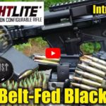 FightLite MCR-100 Magazine & Belt Fed Rifle