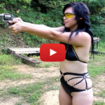 Tiffany Shooting the Smith & Wesson 686 Revolver
