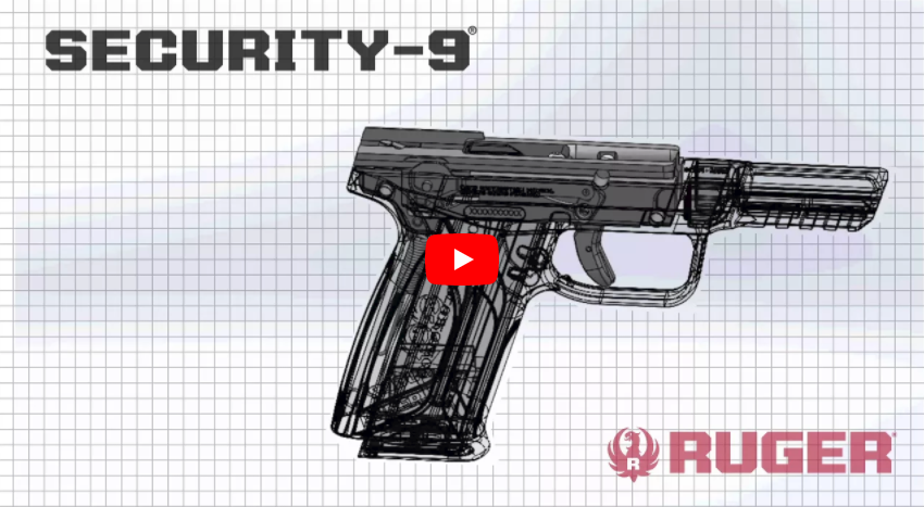 Ruger Security-9 9mm Pistol Features & Range Demo