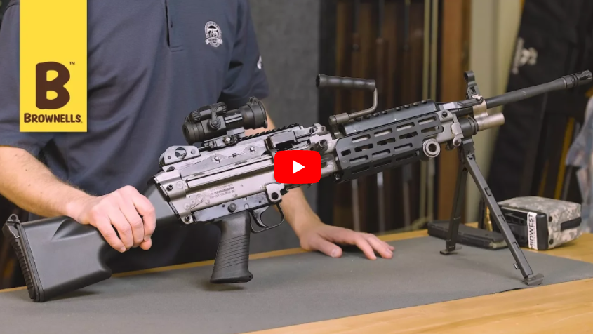 FN M249S Semi-Auto Version of M249 SAW