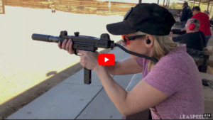 Full-Auto Suppressed Mini UZI