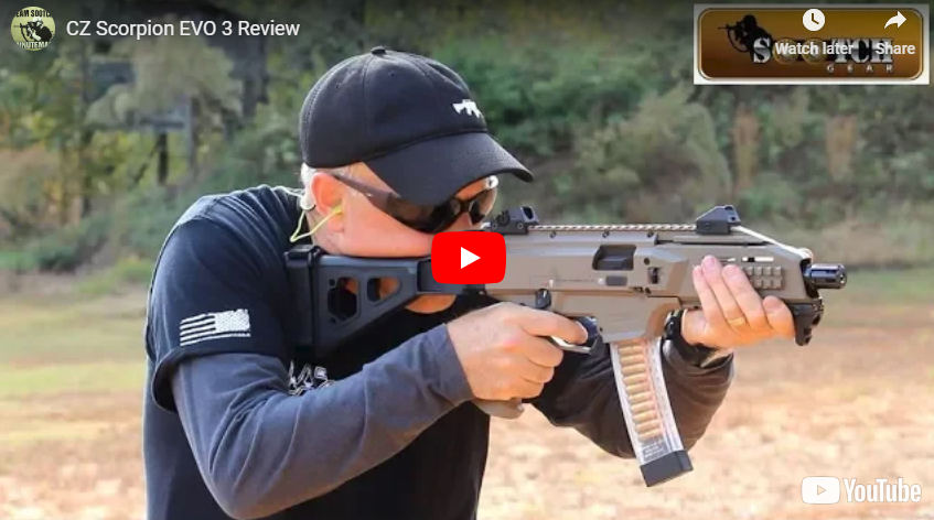 CZ Scorpion EVO 3 S1 Pistol Review and Range Demo