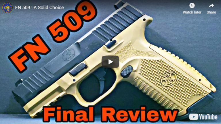 FN 509 Pistol Review