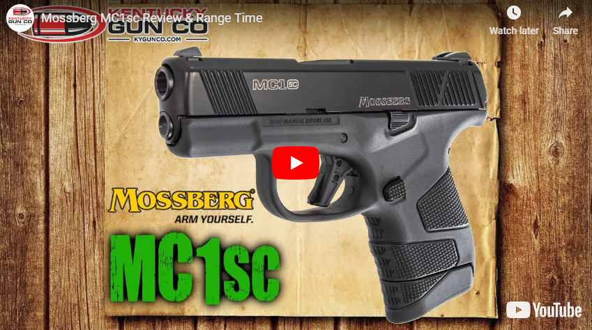Mossberg MC1sc Review