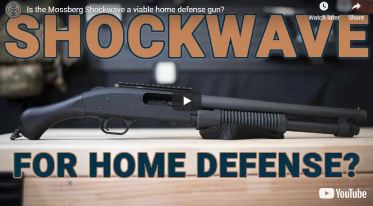 Mossberg 590 Shockwave Shotgun for Home Defense
