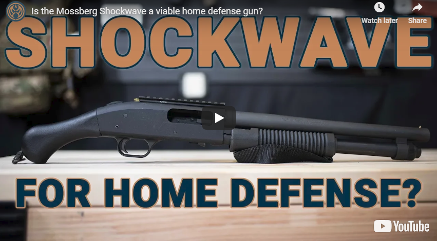 Mossberg 590 Shockwave Shotgun for Home Defense