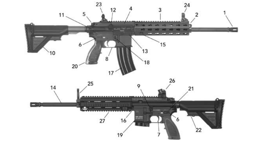 HK MR556A1 Features