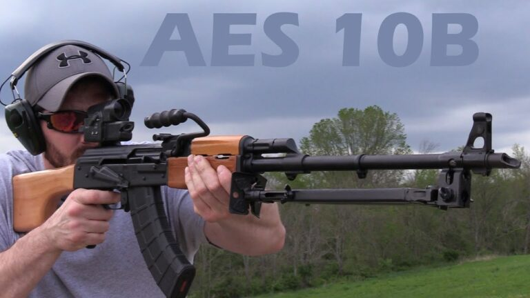 Romanian AES 10B Semi-automatic Rifle Review