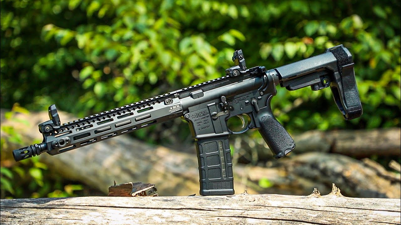 BCM RECCE-11 MCMR Pistol with SBA3 Brace